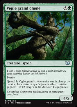 Vigile grand chêne