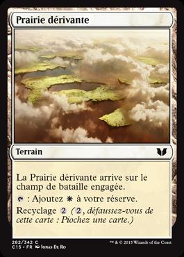 Prairie dérivante