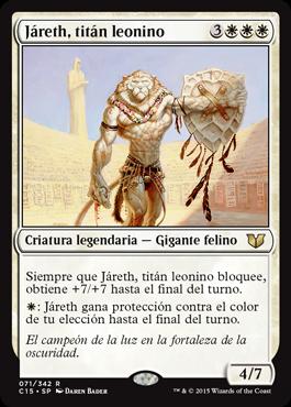 Járeth, titán leonino