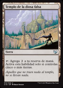Templo de la diosa falsa