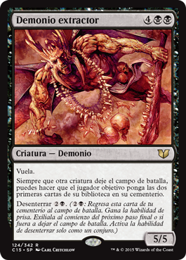 Demonio extractor
