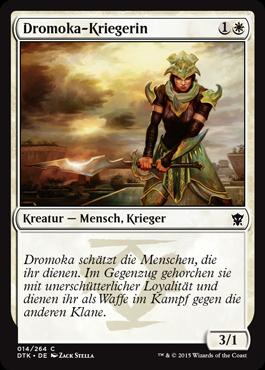 Dromoka-Kriegerin