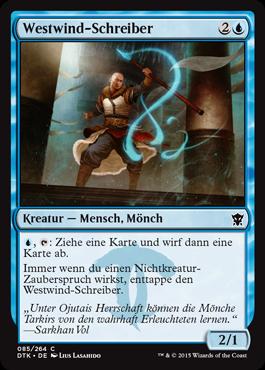 Westwind-Schreiber
