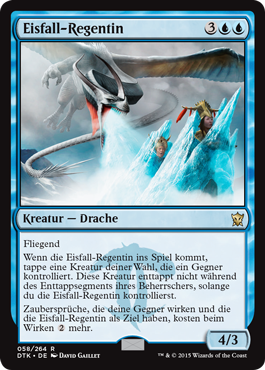 Eisfall-Regentin