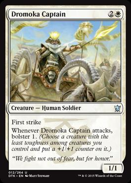 ドロモカの隊長