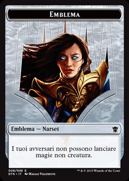 Emblema / Emblem Narset