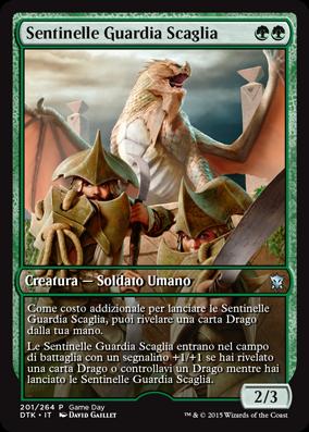 Sentinelle Guardia Scaglia / Scaleguard Sentinels