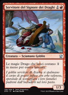 Servitore del Signore dei Draghi / Dragonlord's Servant
