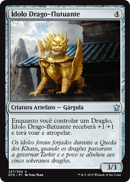 Ídolo Drago-flutuante