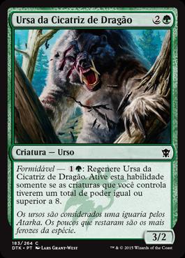Ursa da Cicatriz de Dragão