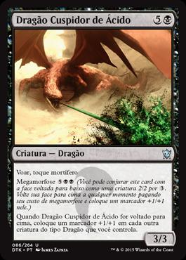 Dragão Cuspidor de Ácido
