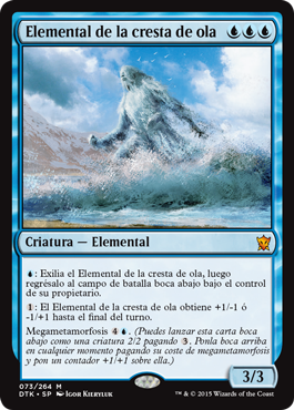 Elemental de la cresta de ola