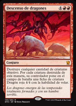 Descenso de dragones