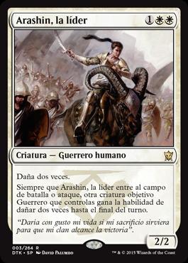 Arashin, la líder
