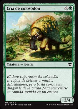 Cría de colosodón