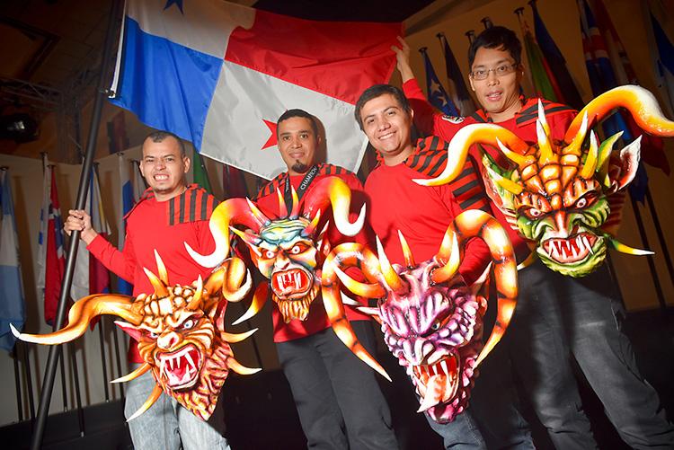 Team Panama, captained by Claro Renderos