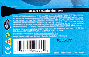 Recyclable Modern Masters Packaging | MAGIC: THE GATHERING