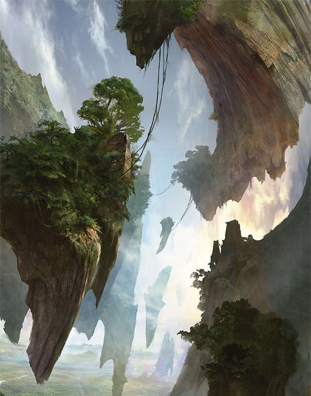 sketches battle for zendikar basic land art magic the
