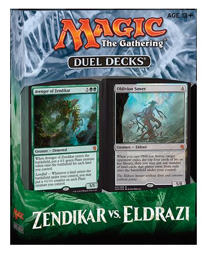 Duel Decks: Zendikar vs. Eldrazi | MAGIC: THE GATHERING