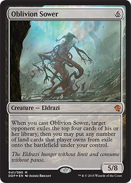 Oblivion Sower -- the first official spoiler from Battle for Zendikar!