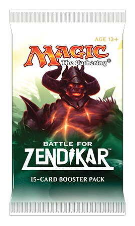 MTG: Battle for Zendikar Booster -  Wizards of the Coast