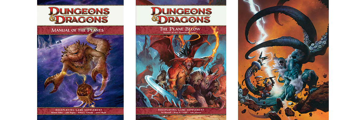 An Elementary Look at the Planes | Dungeons & Dragons
