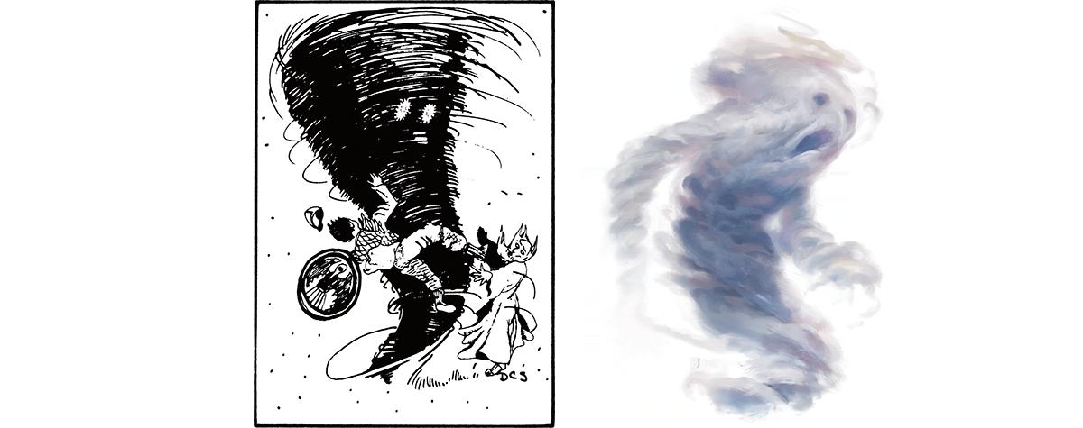 Monsters Air Elemental Dungeons Dragons