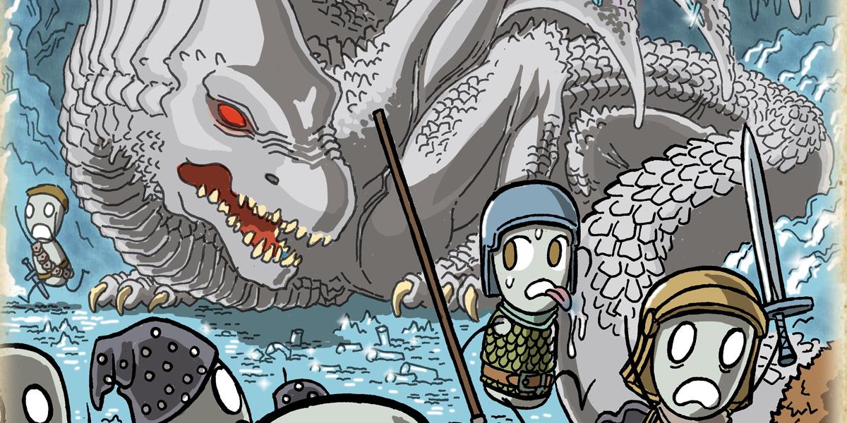 white dragon dungeons dragons