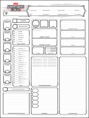 picture relating to Pathfinder Printable Character Sheet identified as Identity Sheets Dungeons Dragons
