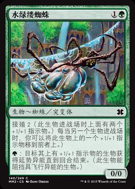 水绿缕蜘蛛