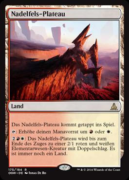 Nadelfels-Plateau