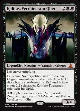Kalitas, Verräter von Ghet