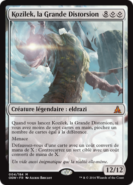 Kozilek, la Grande Distorsion
