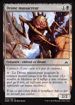Drone massacreur