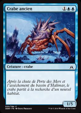 Crabe ancien
