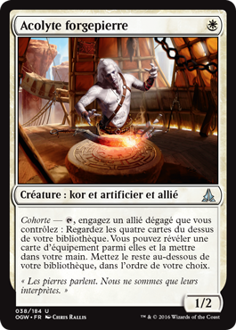 Acolyte forgepierre