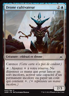 Drone cultivateur