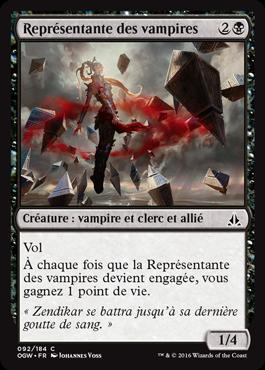 Représentante des vampires