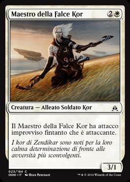 Maestro della Falce Kor