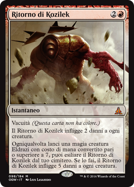 Ritorno di Kozilek