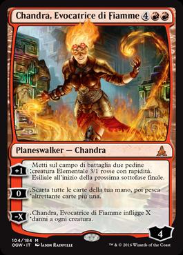 Chandra, Evocatrice di Fiamme