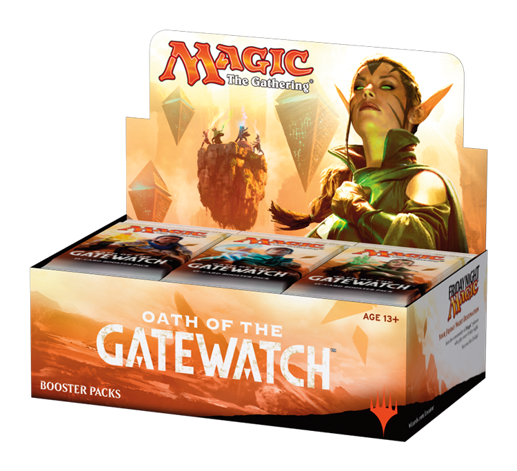 MTG: Oath of the Gatewatch Booster Pack -  Wizards of the Coast