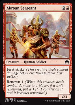 Akroan Sergeant
