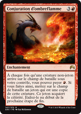 Conjuration d'ombreflamme