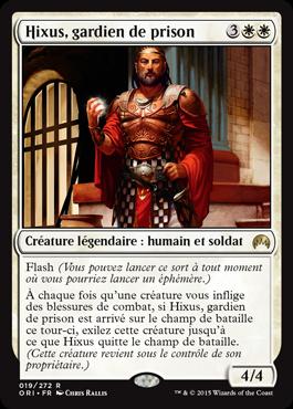 Hixus, gardien de prison