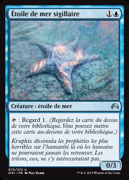 Étoile de mer sigillaire