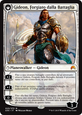 Gideon, Battle-Forged
