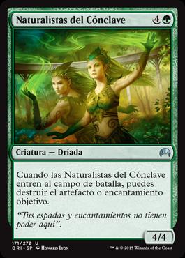 Naturalistas del Cónclave
