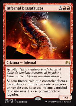 Infernal brasafauces