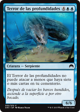 Terror de las profundidades